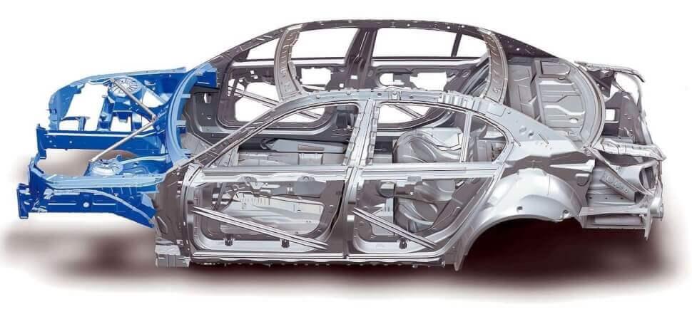 Восстановление геометрии кузова после ДТП